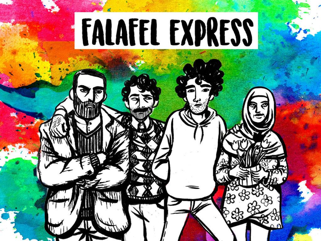 Falafel Express, seconde generazioni raccontate tra il teatro e il fumetto – [con Video]