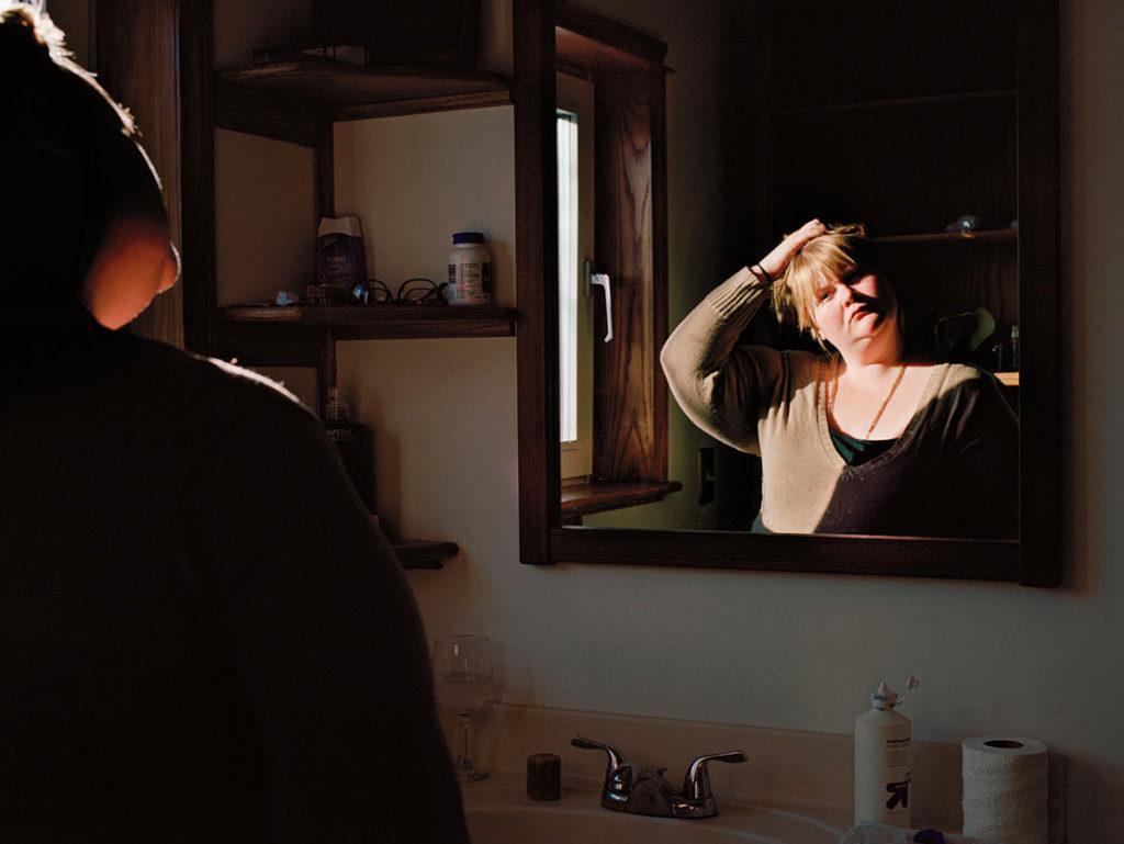 Self portrait jen davis in medias web