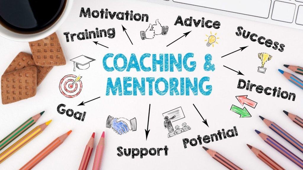 Disegno con  i vantaggi del coaching